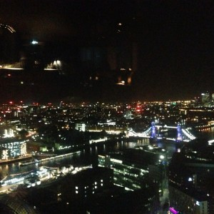 Drinks at The Shard